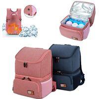 Mummy Diaper Bag Milk Bottle Breast Pump Backpack Cooler bag Camping