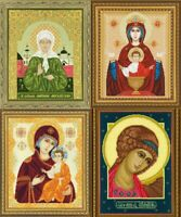 RIOLIS - Russian Icons - Counted Cross Stitch Kits