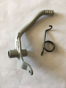 YAMAHA TY80 Trials Rear Brake Lever Pedal & spring (1974-75)