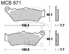 TRW/Lucas Bremsbeläge Bremsklötze organisch MCB671 - siehe Fahrzeugliste