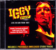 IGGY POP live in san fran 1981(+ 2 bonus tr.)  CD NEU OVP/Sealed