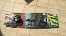 Naish Dub 2016 Kitesurf Twin Tip Board + Apex bindings. Size 134x42