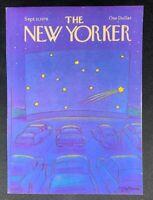 COVER ONLY ~ The New Yorker Magazine, September 11, 1978 ~ Eugene Mihaesco