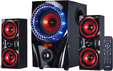 Home Theater Stereo 2.1 Channel Surround Sound Bluetooth Speaker  Audio System