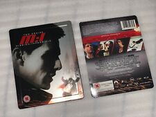 Mission Impossible 1 Play.com UK Steelbook Bluray w/ J-card