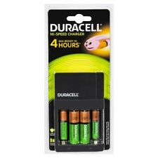 Duracell Cef14 AAA & AA Value All-in-one Charger 4 X Rec NiMH Battery 82181903
