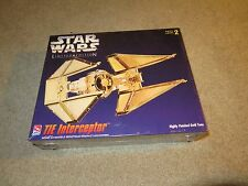 AMT ERTL Star Wars Limited Edition Gold Tie Interceptor MISB Sealed 1995