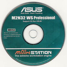 ASUS M2N32 WS PRO Motherboard Drivers Installation Disk M914