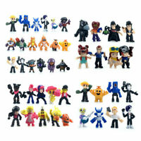 Game Brawl Stars Figure Toys Hero Spike Shelly Leon Jessie Model Toy kids Gifts