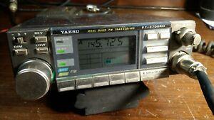 Yaesu ft 2700rh Ricetrasmettitore Dual Band VHF UHF funzionante (Icom Kenwood)