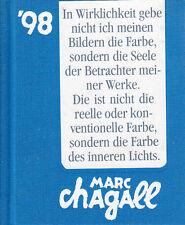 Marc Chagall Pocket Art  98  Bilder- Taschenkalender ISBN 3-906982-05-x