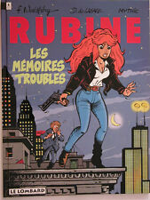 RUBINE ** TOME 1 MEMOIRES TROUBLES ** EO NEUF WALTHERY