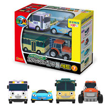 TAYO the Little Bus Special Friends Mini 4 Cars G Set Toy Characters Kids Gift