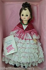 "Madame Alexander 1410 Carmen Doll 14"" Opera Series in Box Tag Stand"