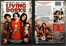 DVD Tino Mewes NIGHT OF THE LIVING DORKS Max von Sydow Anchor Bay UNRATED OOP R1