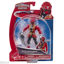Power Rangers Super Megaforce 12.5cm Red Ranger Figure (Damaged Packaging) 38201