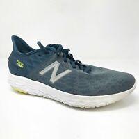 New Balance Mens Fresh Foam Beacon V2 MBECNFG2 Blue Lime Running Shoes Size 11 D