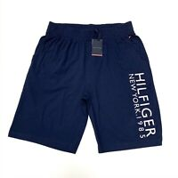 Tommy Hilfiger Men's 1985 Logo Cotton Shorts In Navy