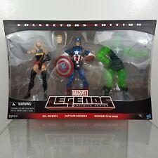 Marvel Legends Ms Marvel Captain America Radioactive Man 3-Pack Target Infinite