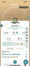 Pokémon Go Galarian Stunfisk , 3 Moves , Great League Pvp