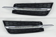 Chevy Cruze 09-14 LED Front Bumper Fog Lights Lamps Daytime Running Lights DRL