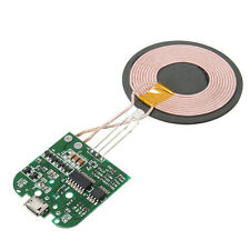 1pc Qi Wireless Charger PCBA Circuit Board With Coil Wireless Charging Gifts ss