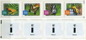 FAUNA_A1_287 2003 Australia rainforest butterflies birds KOALA PEMARA MNH