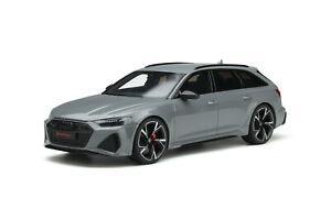 Audi RS6 Avant 2020 Nardo Grey 1/18 GT Spirit GT847 - Livraison Septembre 2021
