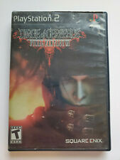 New listing Final Fantasy Vii Dirge of Cerberus - Sony Playstation 2 Ps2 Case & Game