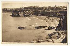 Vintage Postcard (1939) - Newquay Towan Beach & Island - Photochrom- Posted 2316