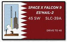 ES'HAIL-2 SPACE X FALCON 9 45 SPACE WING SPACE PATCH