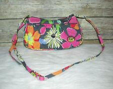 Vera Bradley Retired Floral Jazzy Blooms Quilted Purse Shoulder Bag CrossBody