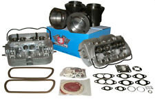 VW Bus/Bug 1600ccm Complete Set: Piston, Bushings, Heads, Seals