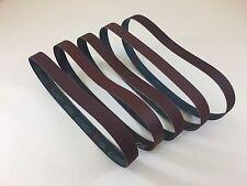 "1"" x 30"" Knife Makers Medium Grit Sanding Belts, 5 pc Assortment, Knife Making"