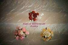 DOLLS HOUSE FLOWERS - MINIATURE BRIDESMAIDS POSY PACK