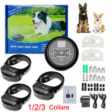 New listing Wireless Electric Dog Fence Pet Containment System Shock Collars For 1/2/3 Dogs