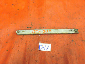 "MG, Triumph, Austin Healey, Original Hood or Trunk Slider, Thumb Lock,13""x 23"","