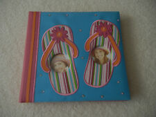 Flip Flops Sandals Photo Album by New View Holds 200 4 X6 Photos with Memo Area