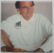 "James Taylor Sealed Columbia LP 1985 ""That's Why I'm Here"""
