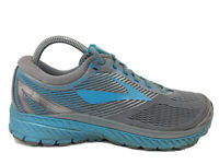 Brooks Ghost 10 Teal Gray Athletic Running Shoes Sneakers Women's Size 10 B