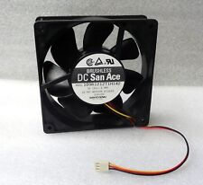 Sanyo Denki 120mm X 38mm Fan 3 Pin W/ Thermal Temperature Control 109R1212TH142