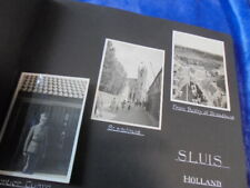 More details for old real photographs belgium, holland, france 1950's circa in luxette album