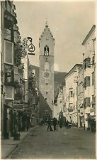 VIPITENO STERZING ITALY TORRE DELLA DODICI TOWER OF THE TWELVE POSTCARD 1920s