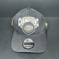 Los Angeles Lakers 2020 NBA Finals Championship Hat New Era Adjustable