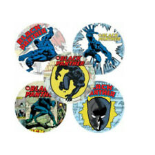 20 Black Panther Comic STICKERS Party Favors Supplies Birthday Loot Bags