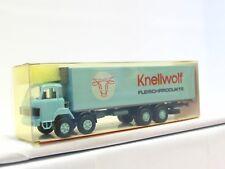 Roskopf 1/87 413 Saurer D 290/330 Kühlkoffer Lkw Knellwolf OVP (V8054)