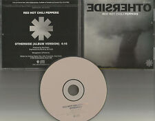 RED HOT CHILI PEPPERS otherside PROMO radio DJ CD Single 1999 USA MINT