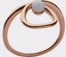 Size N Agate Gem Bnib Vermeil Links Of London Serpentine Ring Rose Gold