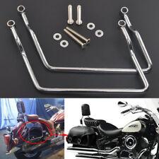 16.5cm Saddle Bag Support Bar Mount Bracket For Honda Shadow ACE/Aero VT400/750
