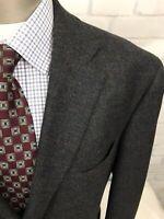 Mr.B Classics Men's Wool S.C.Multicolor Windowpane 3Btn Sport Coat Blazer Sz 46L